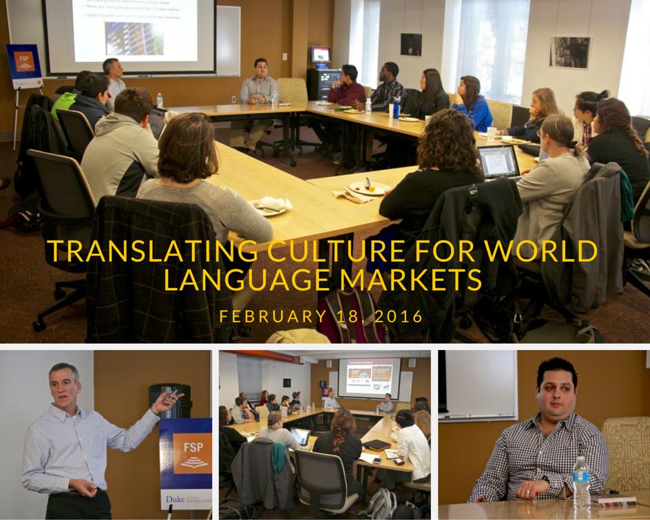 Translating Culture 4 World Language Markets