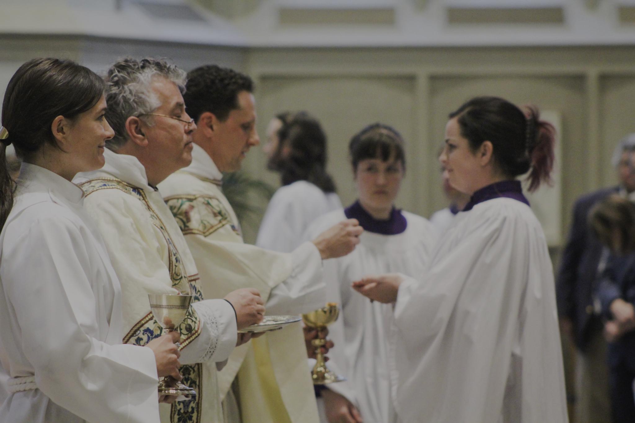 Alice Grant AEHS Eucharist