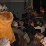 GOP caucus with visiting scarecrow