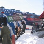 Edwards' campaign bus, Iowa