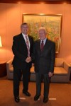 With Former U.S. President Jimmy Carter