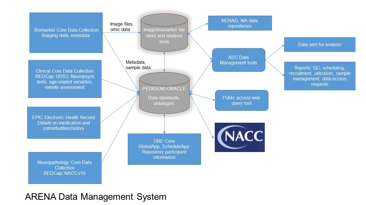 DMS Core data flow diagram