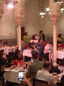 Belly Dancer at Disney's Marrakesh Restaurant