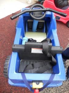 Blue Therapeutic Pedal Car
