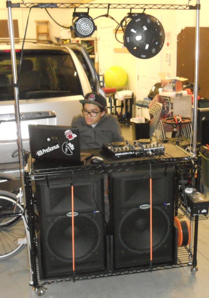The Beatmobile A Mobile Dj Cart 171 Assistive Technology