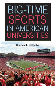 Book Cover : Big-Time Sports in American Universities