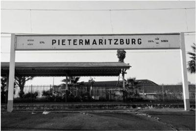 Fig. 15. Riyas Komu, <em>Pietermaritzburg Railway Station, Johannesburg</em>, photograph, 2010<br />Image courtesy the artist