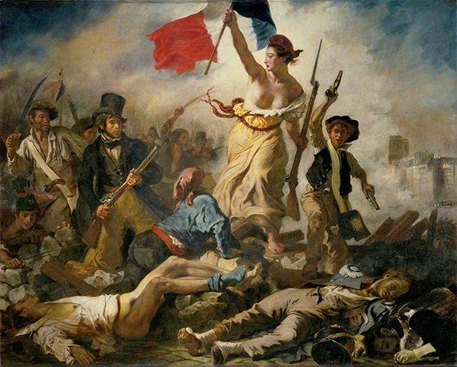 Delacroix Lady Liberty