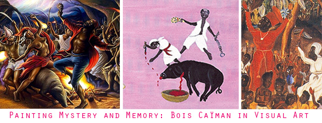 Paintings of Bois Caiman