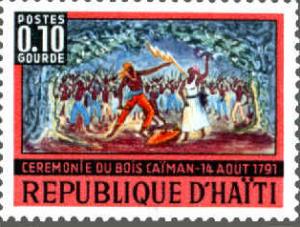 Bois Caiman Stamp