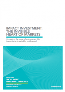 REPORT: The Invisible Heart of Markets by G8 Taskforce