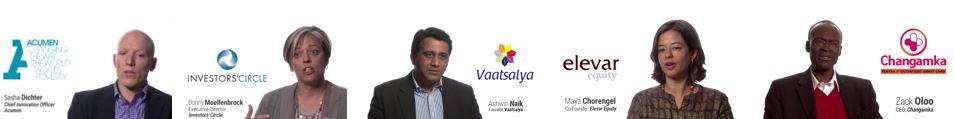 impact investing CASE i2 CASE Smart Impact Capital Acumen Investors' Circle Elevar Vaatsalya
