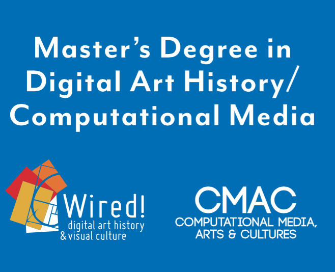 Duke's new Master in Digital Art History / Computational Media