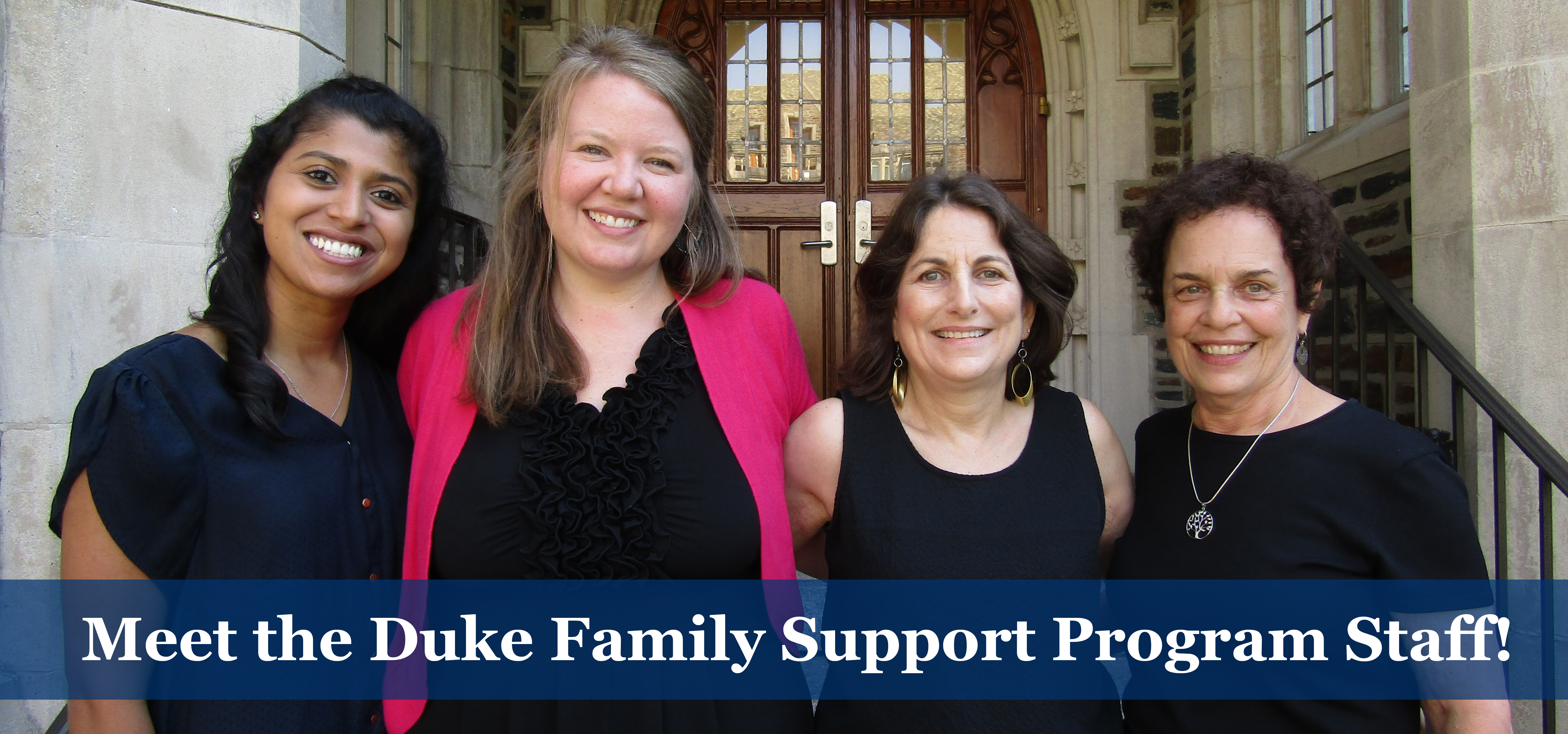 meet the duke family support program staff
