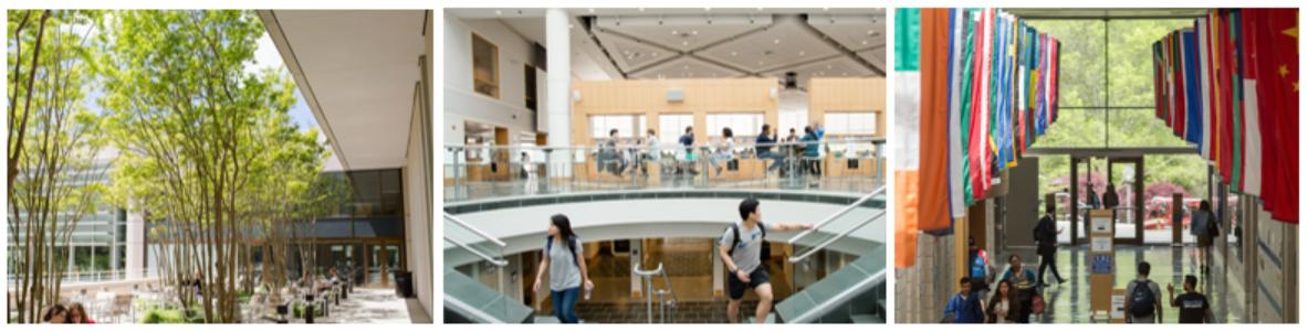 Images around the Fuqua School of Business