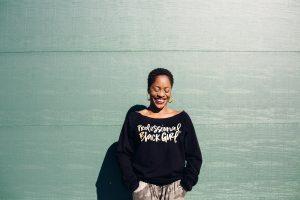 Professor Yaba Blay created the social media campaign, #ProfessionalBlackGirl.