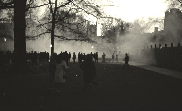 tear gas on allen quad