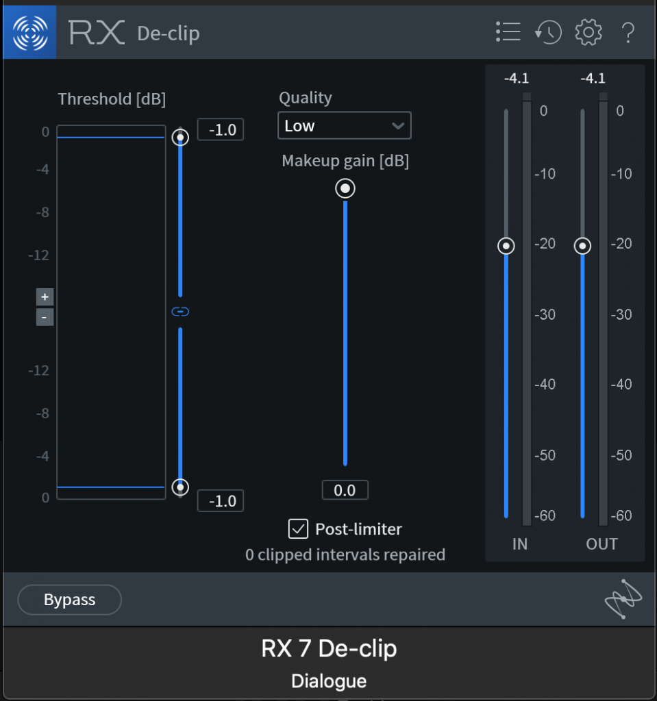 RX Elements Interface