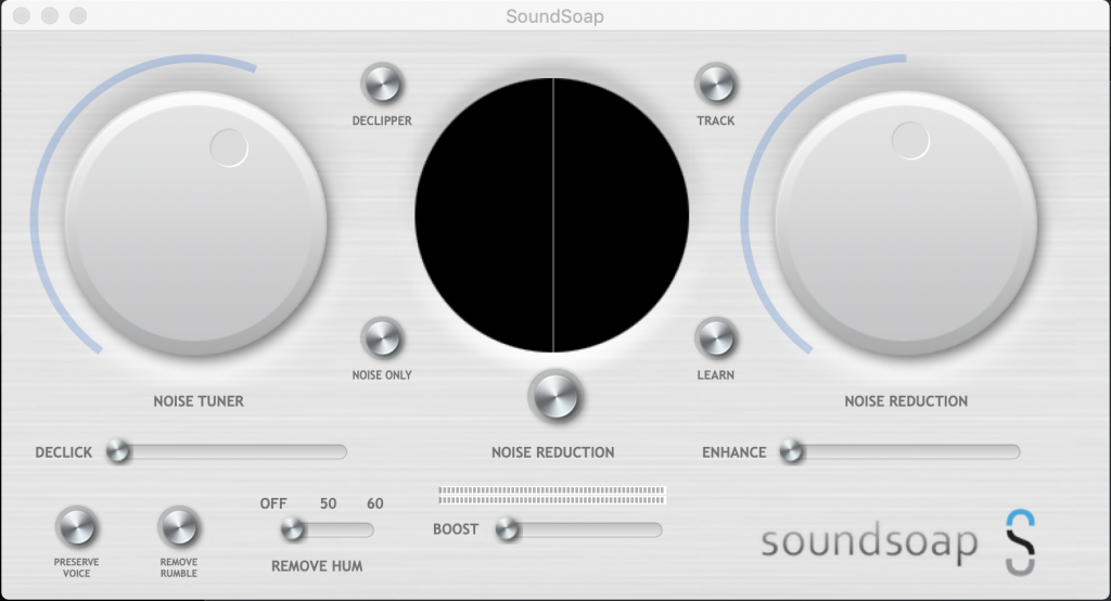 Soundsoap Interface
