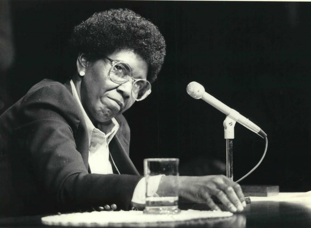 Barbara Jordan at Southwest Texas State University (Texas)