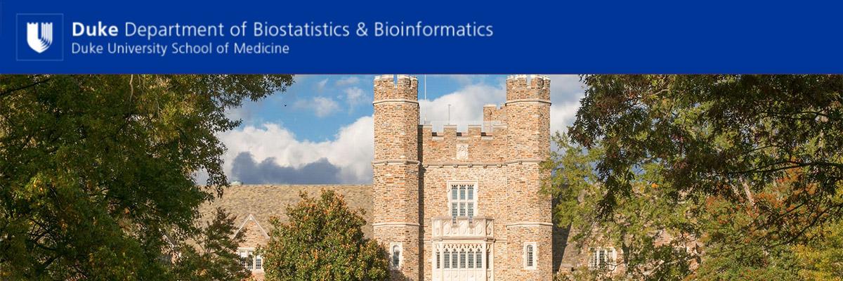 Duke Department of Biostatistics and Bioinformatics