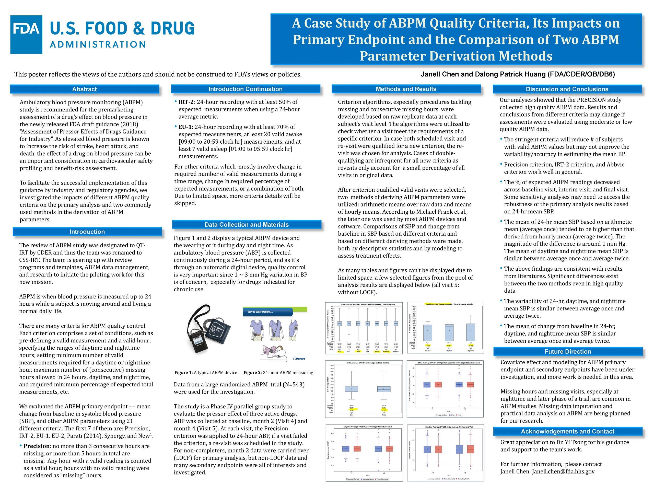 A Case Study of ABPM Quality Criteria