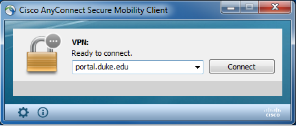 Installing Cisco Anyconnect Secure Mobility Client on PCs running