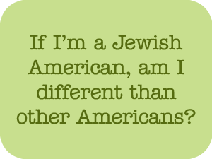 Jewish American Question Link