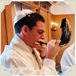 Blowing the Shofar, n.d.