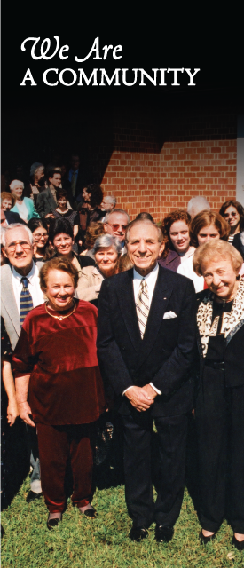 Temple Emanu-El Congregation, Weldon, NC, c. late 1990s, Photo Courtesy of Sam Kittner