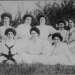 Members of the Woman's College of the University of North Carolina, n.d., Photo Courtesy of Temple Emanuel