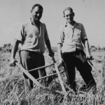 Two Men Plowing, n.d., Courtesy Van Eeden Collection, North Carolina Collection, University of North Carolina Library at Chapel Hill