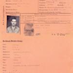 Harry Freid, Weldon, German prisoner of war papers, World War II, Courtesy Sydney Gray