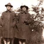 Samuel Leazer Katzin (left), World War I, Courtesy Rachel Katzin Chodorov