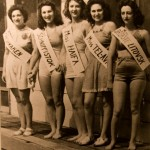 Beauty Queens with Names of Cities, n.d., Courtesy Charlotte Jewish Historical Society