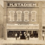 H. Stadiem Clothing Store, Kinston, 1920, Photo by Dixon Studio, Courtesy Stadiem Family
