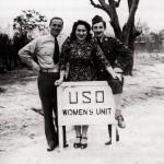 Florence Fleishman, Fayetteville, with future husband Joseph Blumenstein (left), German-born GI, World War II, Courtesy David and Bunny Moff