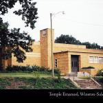Temple Emanuel, Winston-Salem, built 1952
