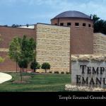 Temple Emanuel Greensboro, built 2002