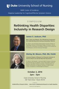 SoN Disparities Symposium Poster