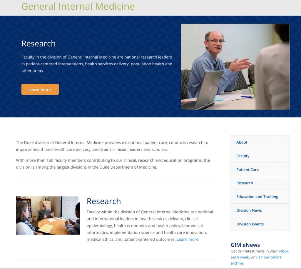 GIM new website