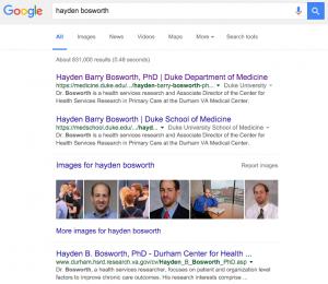 Bosworth search