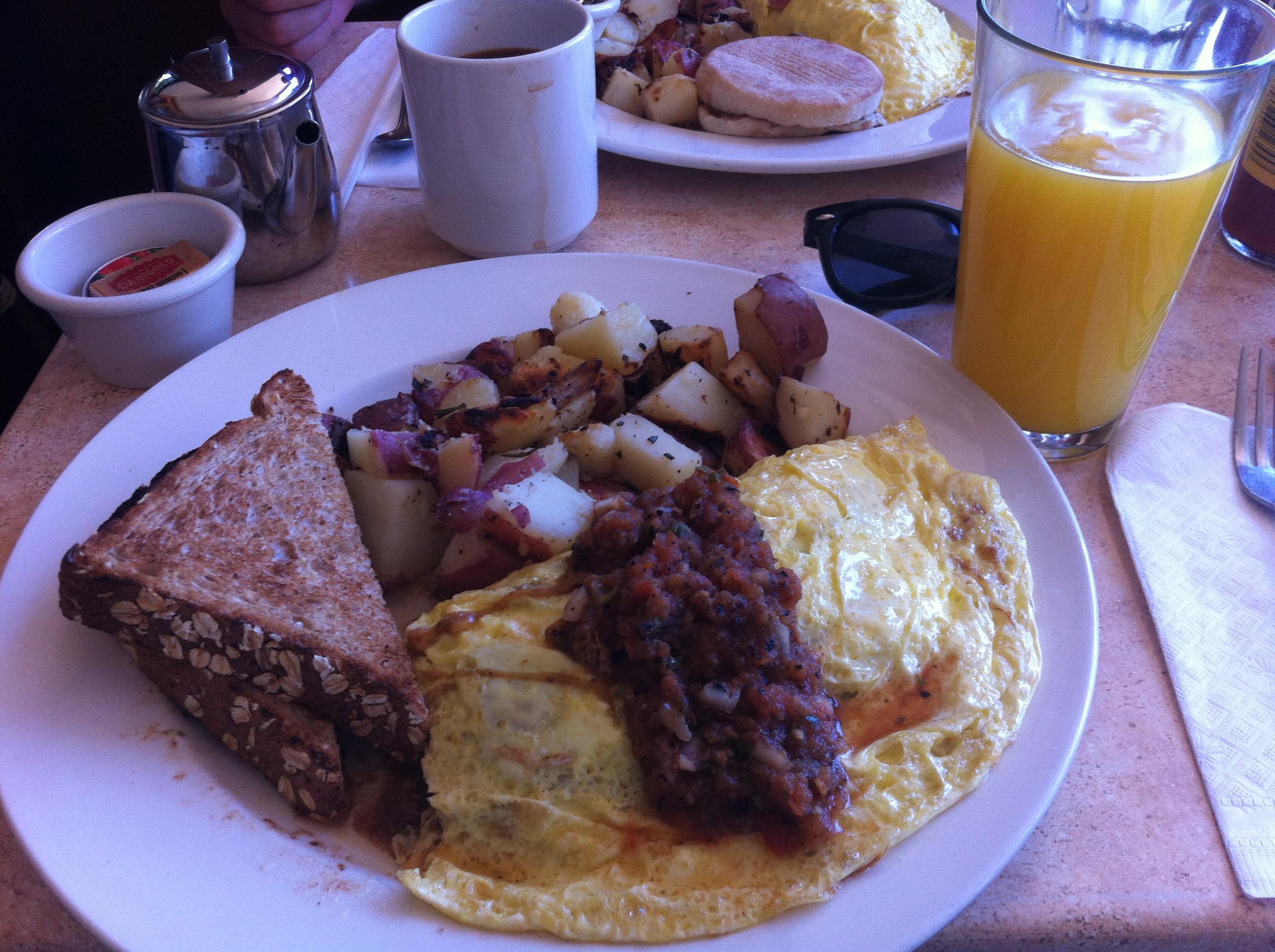 Just a light breakfast