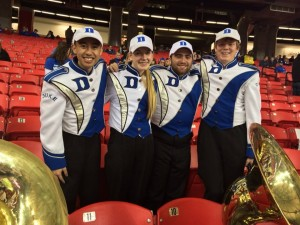 The 2013/14 Bass Section at the Chick-Fil-A Bowl