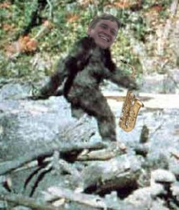 One of the most famous alleged sightings of the Saxsquatch.