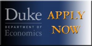 Duke Econ Apply Now