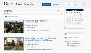 http://calendar.duke.edu