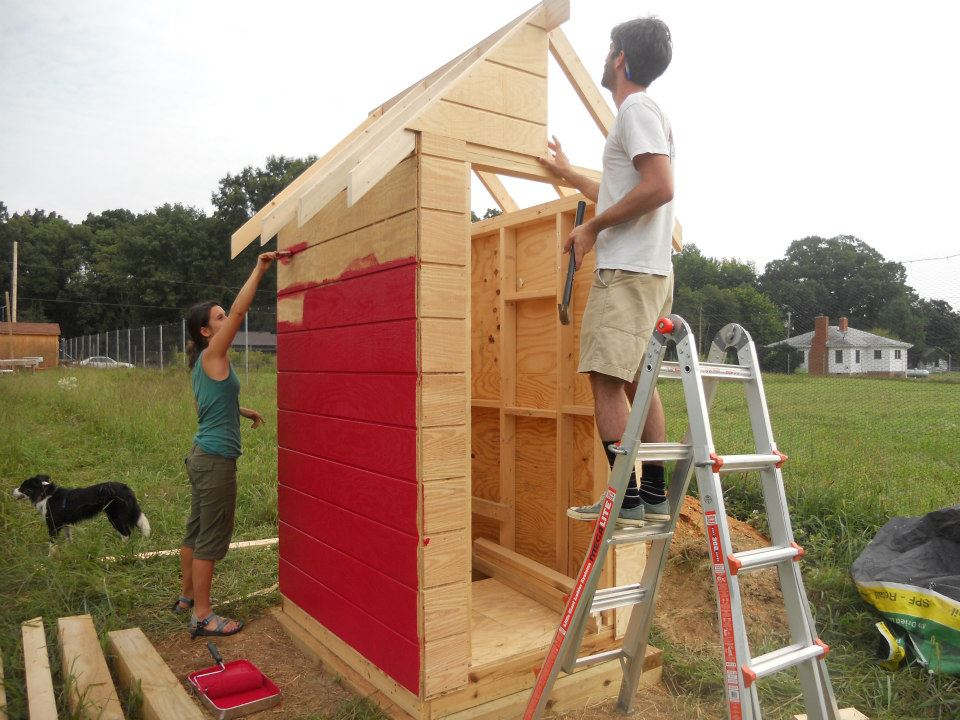 Build Your Own Outhouse