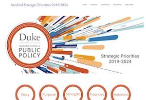 Sanford Strategic Priorities Website