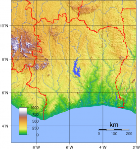 Ivory_Coast_Topography